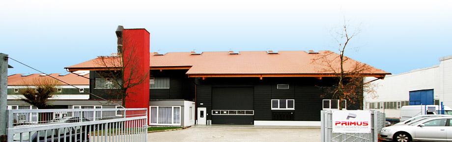 Primus Oberflächentechnik Firmengebäude Schwäbisch Hall
