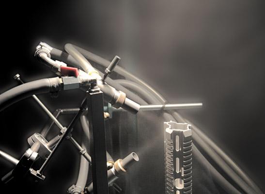 Primus Oberflächentechnik Glasperlenstrahlanlage