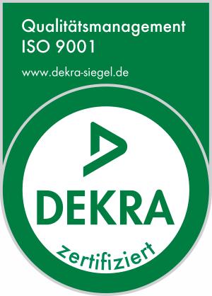 Primus Oberflächentechnik ISO 9001-2008 Prüfsiegel
