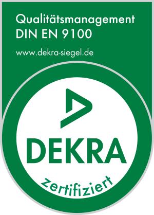 Primus Oberflächentechnik ISO 9100-2009 Prüfsiegel